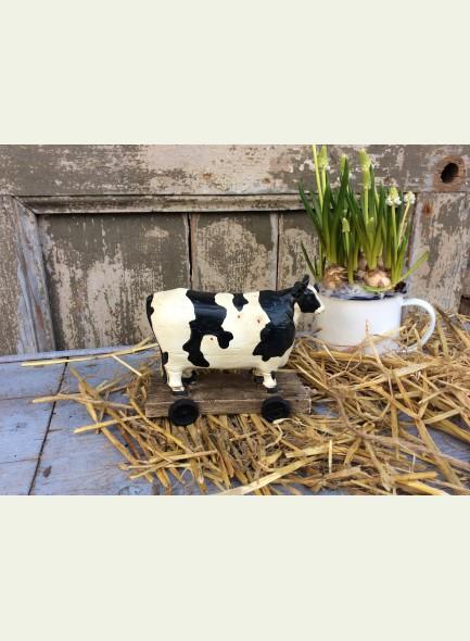 Clayre en Eef koe