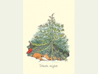 Kerstkaart Silent Night
