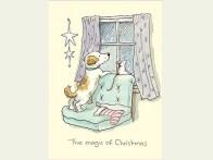 Kerstkaart The magic of Christmas