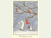 Kerstkaart Christmas eve2