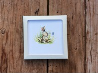 Two Bad Mice Coaster Baby Rabbit Butterfly