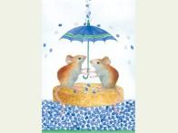 Floris Beschuit met muisjes blauw