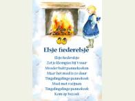 Floris Kinderliedje Elsje Fiederelsje