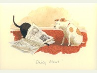 Two Bad Mice Daily Mews kaart