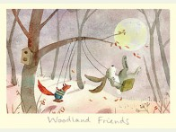 Two Bad Mice Woodland friends kaart