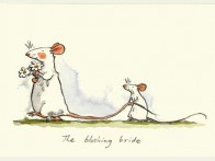 Two Bad Mice The Blushing Bride kaart