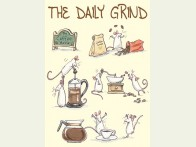 Two Bad Mice The Daily Grind kaart