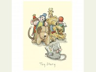Two Bad Mice Toy Story kaart