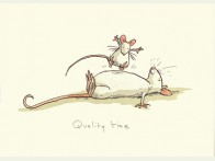 Two Bad Mice Quality Time kaart