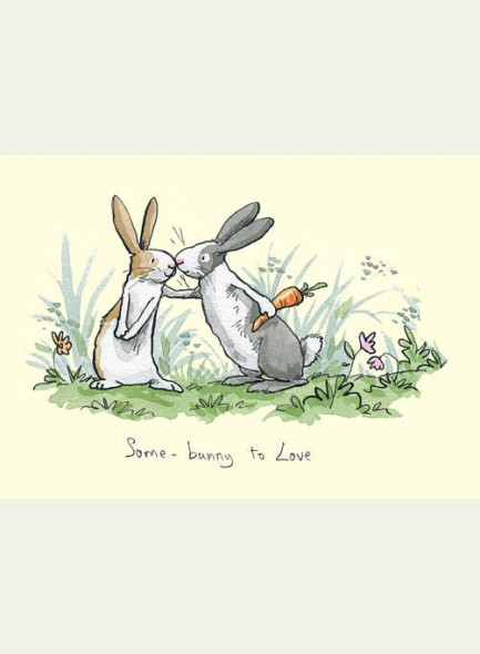 Two Bad Mice Some-bunny to Love kaart