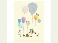 Two Bad Mice Balloons kaart