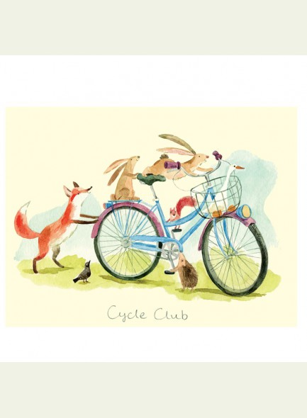 Two Bad Mice Cycle club kaart