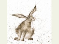 Wrendale Designs kaart Hare raising
