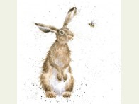 Wrendale Designs kaart The hare and the bee