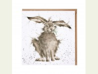 Wrendale Designs kaart Hare brained